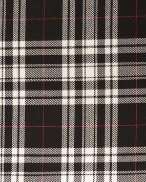 MENZIES (DRESS)  POLYVISCOSE TARTAN FABRIC