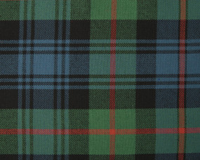 MURRAY OF ATHOLL ANCIENT  POLYVISCOSE TARTAN FABRIC