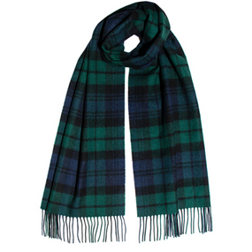 BLACK WATCH MODERN LUXURY OVERSIZED LAMBSWOOL SCARF