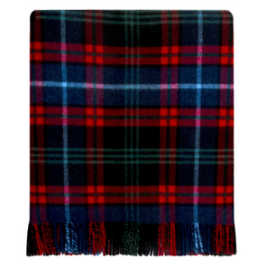Holiday Plaid Wool Blanket