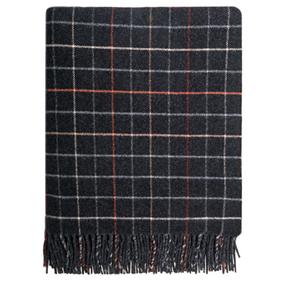 Lochranza Camel Check Wool Blanket