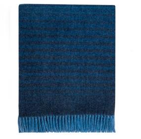 Lenzie Dusk Wool Blanket