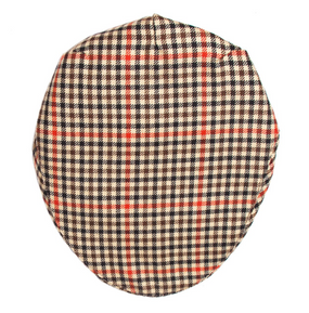 DENHOLM CHECK TWEED BARNTON FLAT CAP