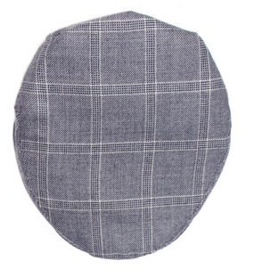 DORNOCH CHECK TWEED BARNTON FLAT CAP
