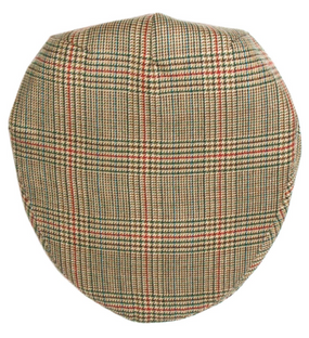 MINTO CHECK TWEED BARNTON FLAT CAP
