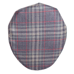 PLOCKTON CHECK TWEED BARNTON FLAT CAP
