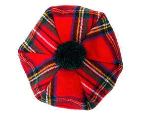 Royal Stewart Modern Tartan Brushed Wool Tam
