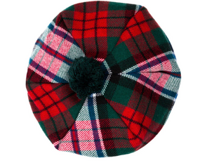 MacDuff Dress Modern Tartan Brushed Wool Tam