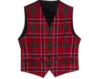 Men's Tartan Waistcoat