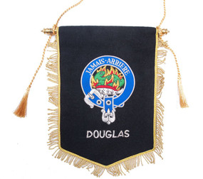 Embroidered Douglas Clan Banner