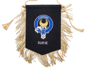 Embroidered Durie Clan Banner