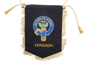 Embroidered Ferguson Clan Banner