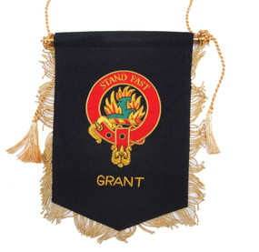 Embroidered Grant Clan Banner
