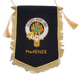 Embroidered MacKenzie Clan Banner