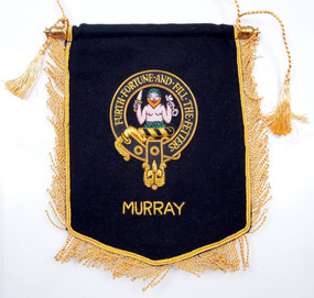Embroidered Murray Clan Banner