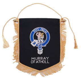 Embroidered Murray of Atholl Clan Banner