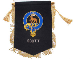 Embroidered Scott Clan Banner