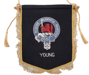 Embroidered Young Clan Banner