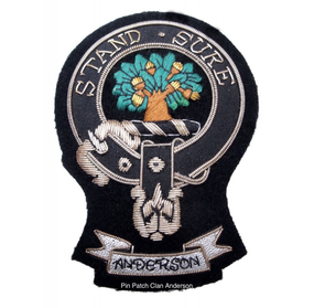 Pin Patch Clan Anderson