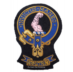 Pin Patch Clan Armstrong