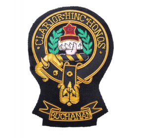 Pin Patch Clan Buchanan