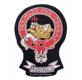 Pin Patch Clan Macdonald