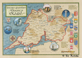 """The Families of County Clare (11.7"""" x 16.5"""")"""