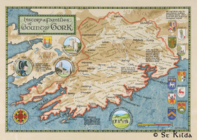 """The Families of County Cork (16.5"""" x 23.5"""")"""