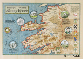 "The Families of County Kerry (16.5"" x 23.5"")"