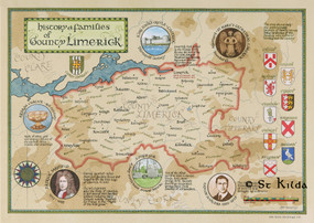 "The Families of County Limerick (11.7"" x 16.5"")"