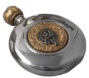 Sporran Flask Irish Clan Crest
