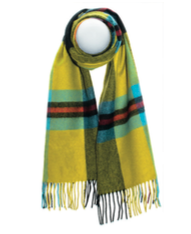 CORNISH NATIONAL LUXURY OVERSIZED LAMBSWOOL SCARF