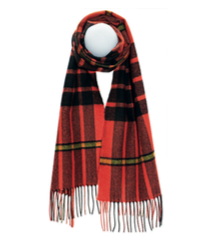 MACDONALD OF ARDNAMURCHAN ANCIENT LUXURY OVERSIZED LAMBSWOOL SCARF