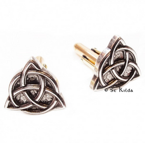 Cufflinks Celtic Trefoil