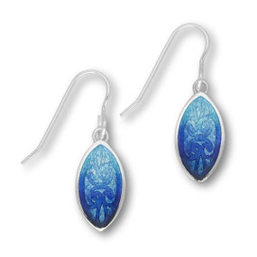 Alba Silver Drop Earrings EE424