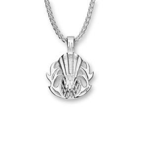 Thistle Silver Pendant P672