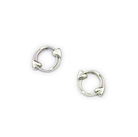 Archibald Knox Silver Earrings E1605