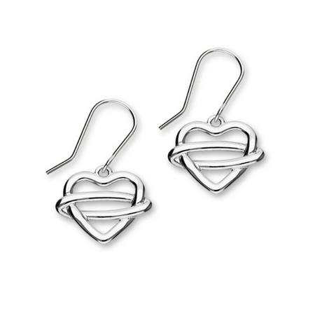 Celtic Generations Silver Earrings