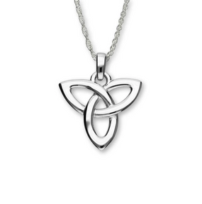 Celtic Generations Silver Trinity Knot Pendant