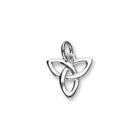 Celtic Generations Silver Trinity Knot Charm