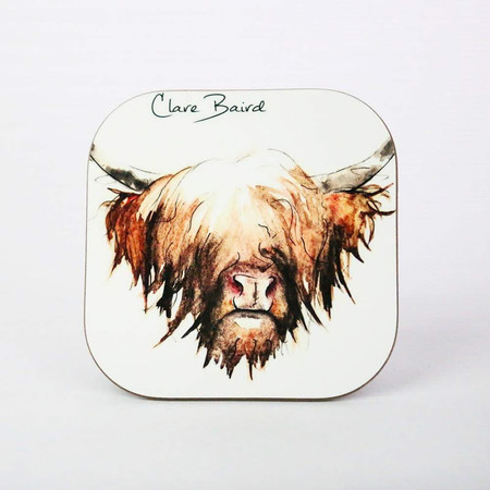 Highland Cow Coasters
