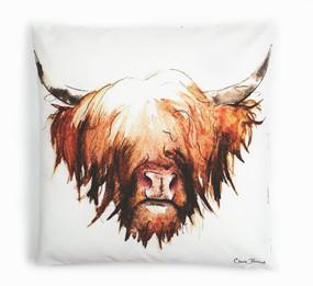 Highland Cow cushion