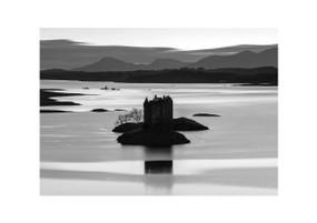 "Castle Stalker, Argyll - Mounted Print (8.3"" x 11.7"")"