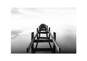 "Stairway to Heaven - Mounted Print (8.3"" x 11.7"")"