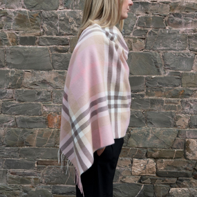 Iona Blossom Lambswool Poncho