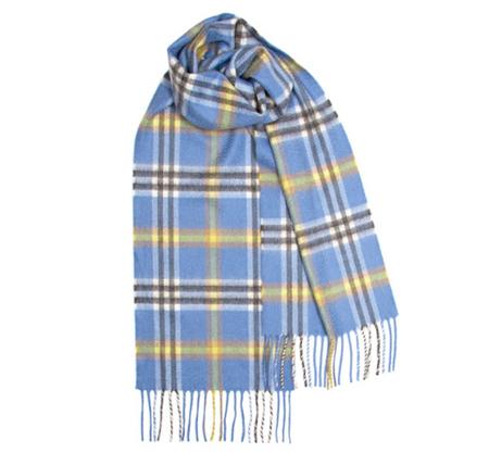 Scottish cashmere scarf