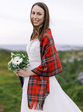 Tartan Wedding Stole