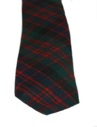 MacDonald Clan Modern Tartan Tie