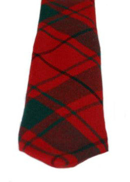MacDonald of the Isles Red Modern Tartan Tie