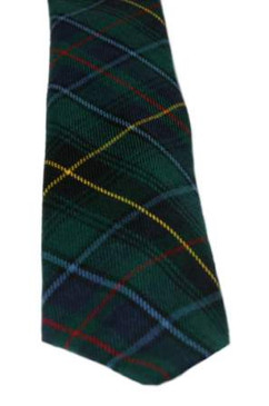 MacInnes Hunting Modern Tartan Tie